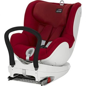 Romer-Dual-Fix-Silla-de-coche-color-rojo-0