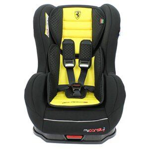 Silla-de-coche-ISOFIX-Ferrari-de-9-a-18-kg-con-protecciones-laterales-Creacin-100-francesa-3-estrellas-Test-TCS-4-colores-Cale-cabeza-y-asiento-acolchados-0